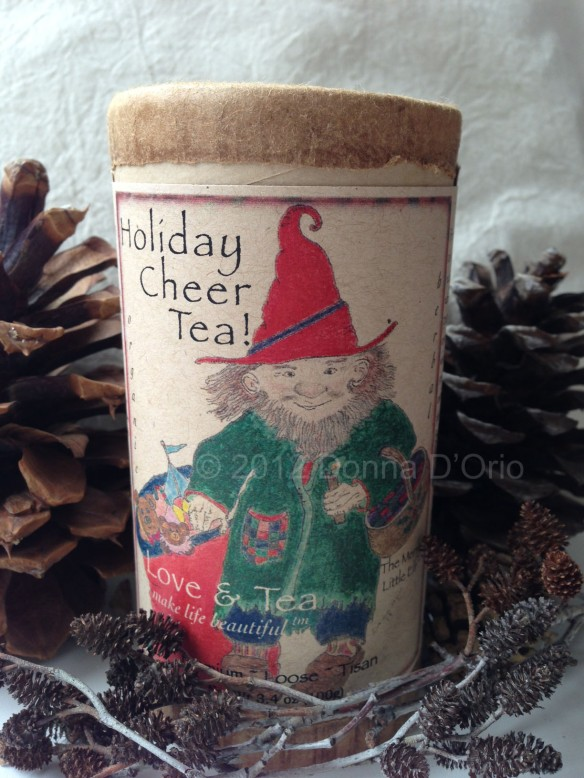 The Merry Little Elf and Love & Tea's Holiday Cheer blend